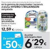 Oferta de Maquinilla Wilkinson por 12,59€