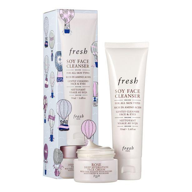 Oferta de Set facial fresh skin care - set limpieza e hidratación por 18€