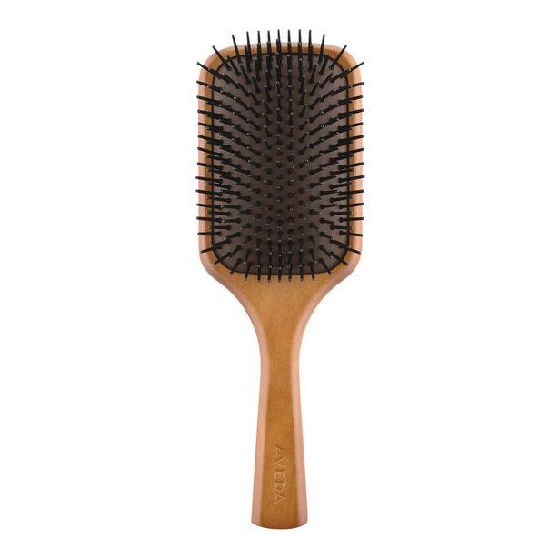 Oferta de Wooden paddle brush - cepillo plano de madera por 24,79€