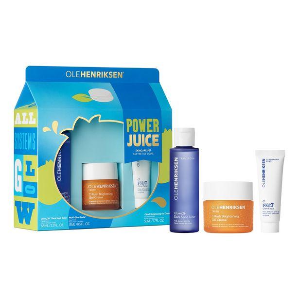 Oferta de Power juice set - estuche tratamiento facial por 39,19€