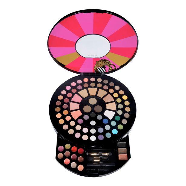 Oferta de Paleta de maquillaje wild wishes - 86 colores, 1 lápiz de ojos y 2 pinceles por 26€