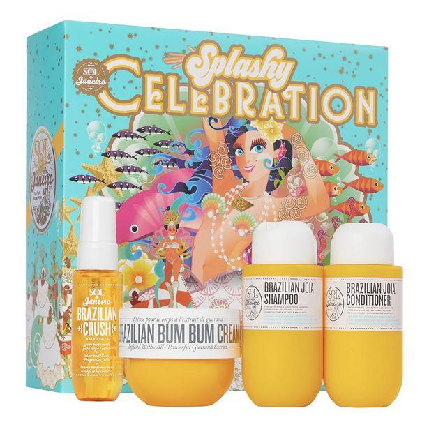 Oferta de Splashy celebration - estuche de tratamiento corporal y capilar por 34,99€
