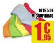 Oferta de Paño de microfibra por 1,95€