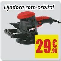 Oferta de Lijadora orbital por 29,9€