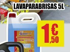 Oferta de Lavaprabrisas por 1,5€
