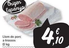 Oferta de Llom de porc a trossos  por 4,1€