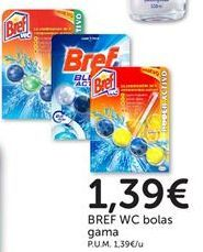 Oferta de Limpiador wc Bref WC por 1,39€