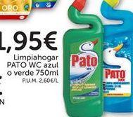 Oferta de Limpiahogar azul  o verde Pato WC por 1,95€