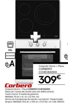 Oferta de Hornos Corberó por 309€
