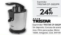 Oferta de Exprimidor Tristar por 24,99€