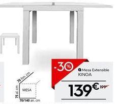 Oferta de Mesa extensible por 139€