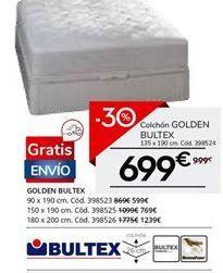 Oferta de Colchones Bultex por 699€