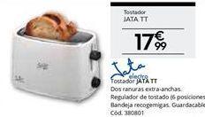 Oferta de Tostadora Jata por 17,99€