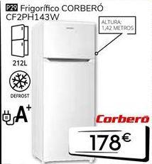 Oferta de Frigoríficos Corberó por 178€