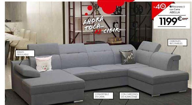 Oferta de Chaise longue con cama por 1199€