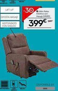 Oferta de Sillón relax por 399€