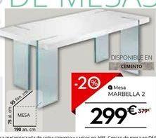 Oferta de Mesa por 299€