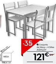 Oferta de Mesa de comedor por 121€