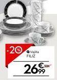 Oferta de Vajilla por 26,99€