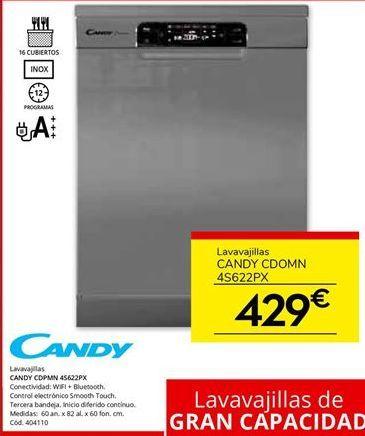 Oferta de Lavavajillas Candy por 429€
