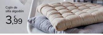 Oferta de Cojín de silla algodón por 3,99€