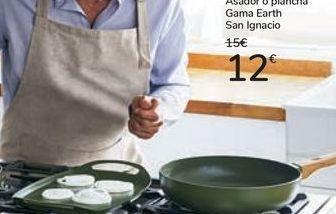 Oferta de Asador o plancha Gama Earth San Ignacio por 12€