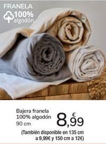 Oferta de Bajera franela  por 8,99€