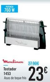 Oferta de Tostador 1453 Moulinex por 23€