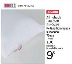 Oferta de Almohada Fibersoft PIKOLIN  por 18€