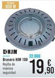 Oferta de Brasero HJM 100  por 19,9€
