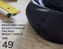 Oferta de Pouf Pera  por 49€