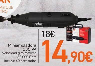 Oferta de Miniamoladora 135 W  por 14,9€