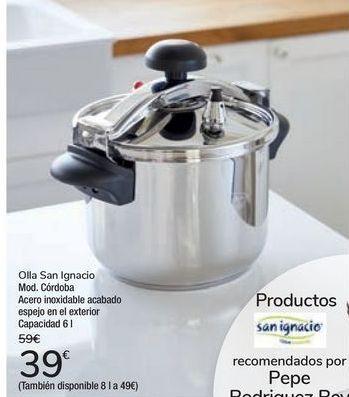 Oferta de Olla San Ignacio Mod. Córdoba por 39€