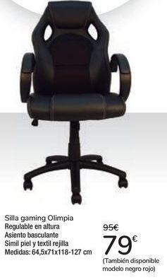 Oferta de Silla Gaming Olimpia  por 79€