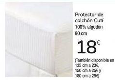 Oferta de Protector de colchón Cutí  por 18€