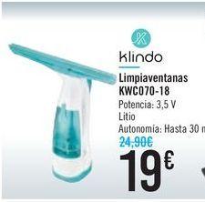 Oferta de Limpiaventanas KWC070-18 Klindo por 19€