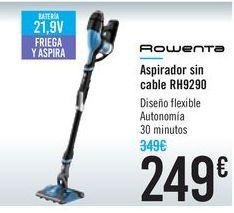 Oferta de Aspirador sin cable RH9290 ROWENTA por 249€