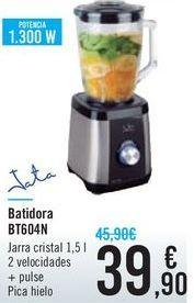 Oferta de Batidora BT604N Jata por 39,9€