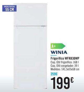 Oferta de Frigorífico WFRB30WP por 199€