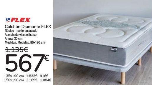 Oferta de Colchón Diamante FLEX  por 567€