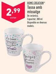 Oferta de Tazas por 2,99€