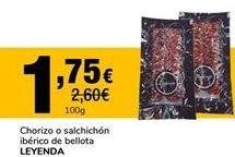 Oferta de Chorizo Leyenda por 1,75€