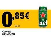 Oferta de Cerveza Heineken por 0,85€