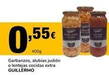 Oferta de Garbanzos guillermo por 0,55€