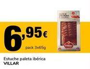 Oferta de Paleta ibérica Villar por 6,95€