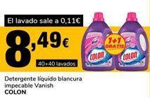 Oferta de Detergente líquido Colon por 8,49€
