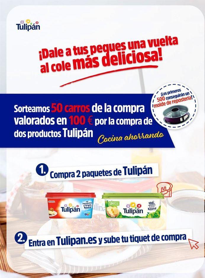 Oferta de Sorteo Tulipán por