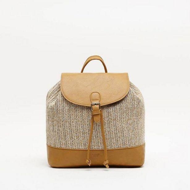 Oferta de Kaly mochila con rafia por 12€