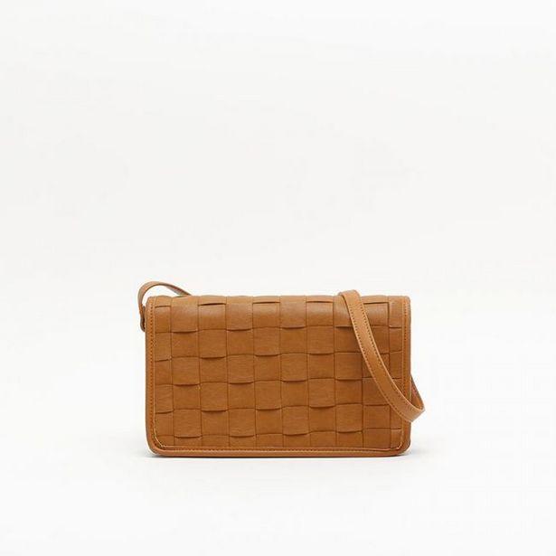 Oferta de Braid bolso bandolera pequeño trenzado por 12€