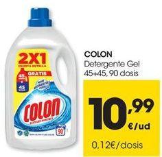 Oferta de Detergente gel Colon por 10,99€